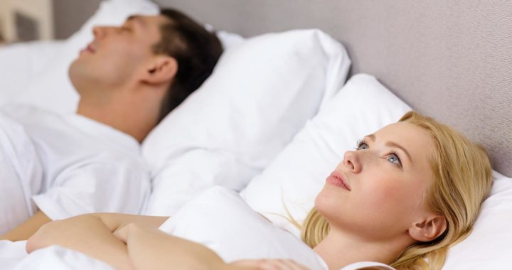 couple argue bed