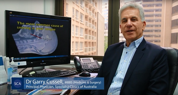 Dr Garry Cussell, snoring doctor