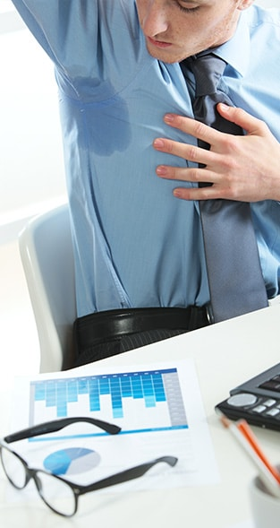 What is hyperhidrosis & how can it be treated?